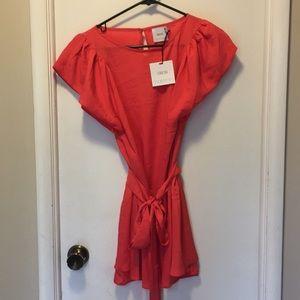 ASOS Maternity coral tunic/dress US8